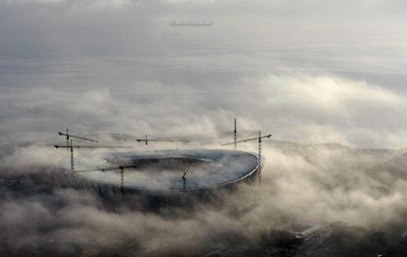 Foggy Emirates